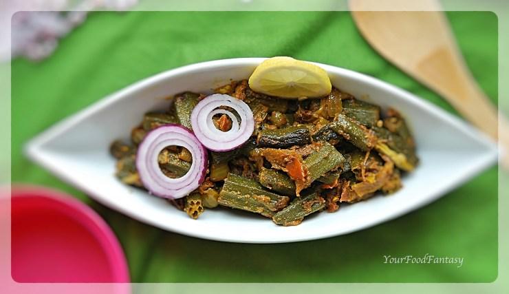 Bhindi Do Pyaza Recipe | YourFoodFantasy.com