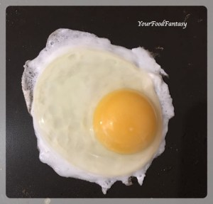 Half Fry Egg for Egg Kejriwal | Your Food Fantasy