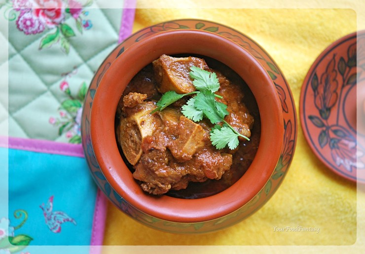 Handi Gosht Recipe | Lamb Stew | YourFoodFantasy.com
