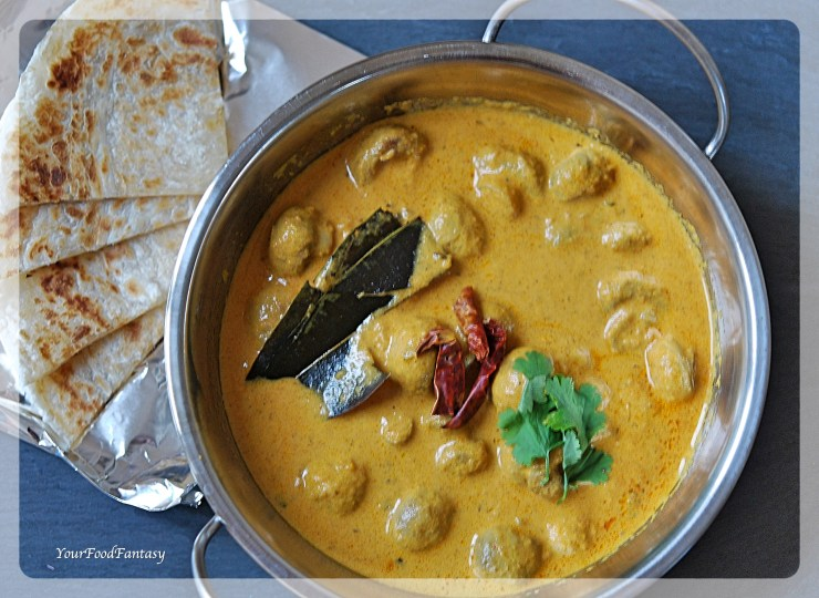 Mushroom Tikka Masala | Mushroom Curry | Your Food Fantasy