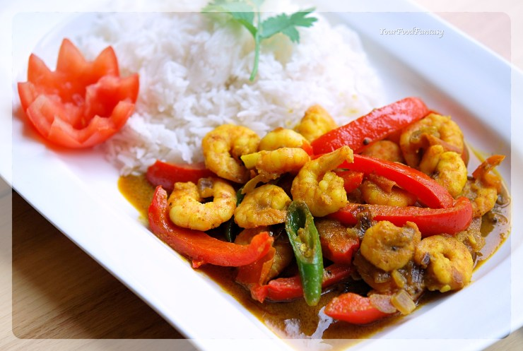Capsicum Prawn Curry Recipe | Your Food Fantasy by Meenu Gupta