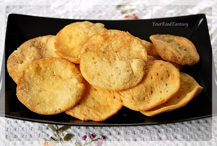 Papdi recipe   Papdi for Papdi Chaat   Your Food Fantasy