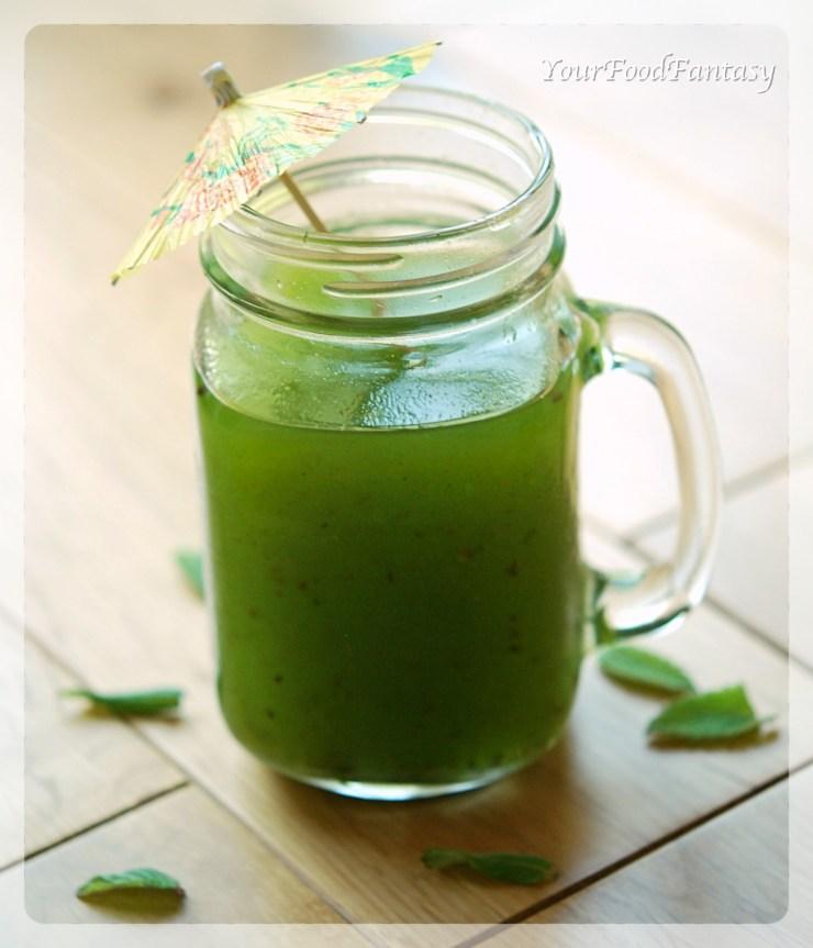 Raw Mango Drink   Aam Panna Recipe   YourFoodFantasy.com