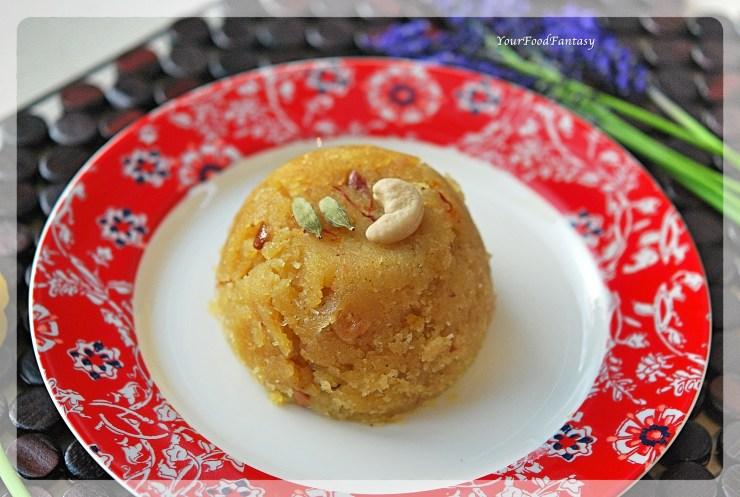 Sooji Ka Halwa   YourFoodFantasy.com