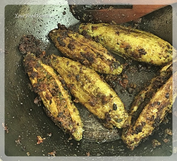Stuffed Karela Recipe | YourFoodFantasy.com by Meenu Gupta