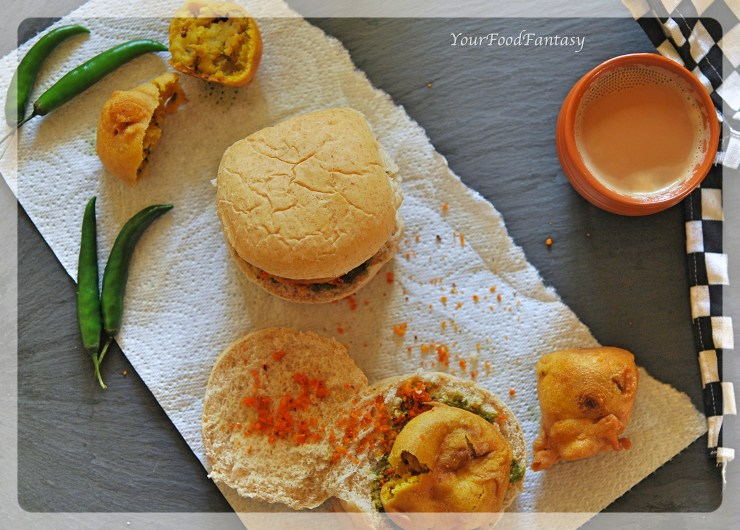 Vada Pav Recipe | Your Food Fantasy