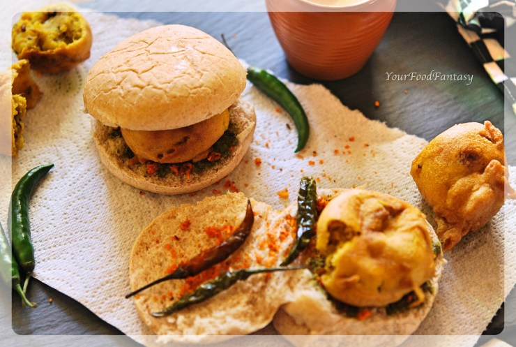 Vada Pav Recipe | YourFoodFantasy