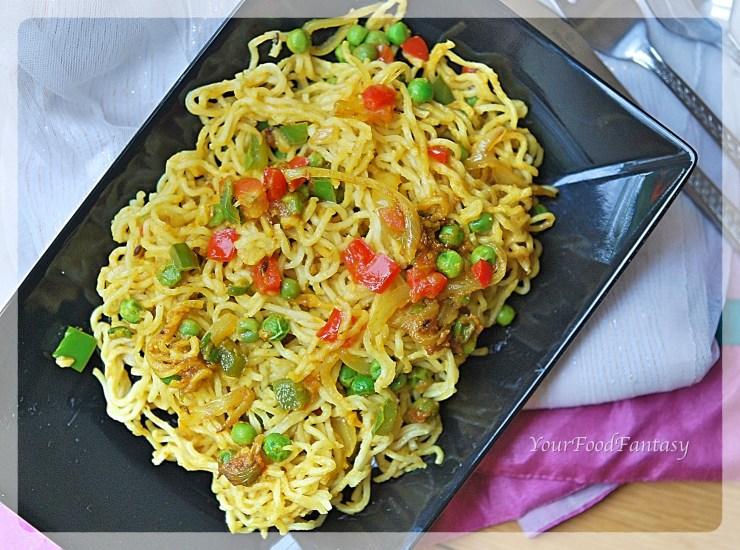 How to make Maggi - Maggi Recipe | Your Food Fantasy