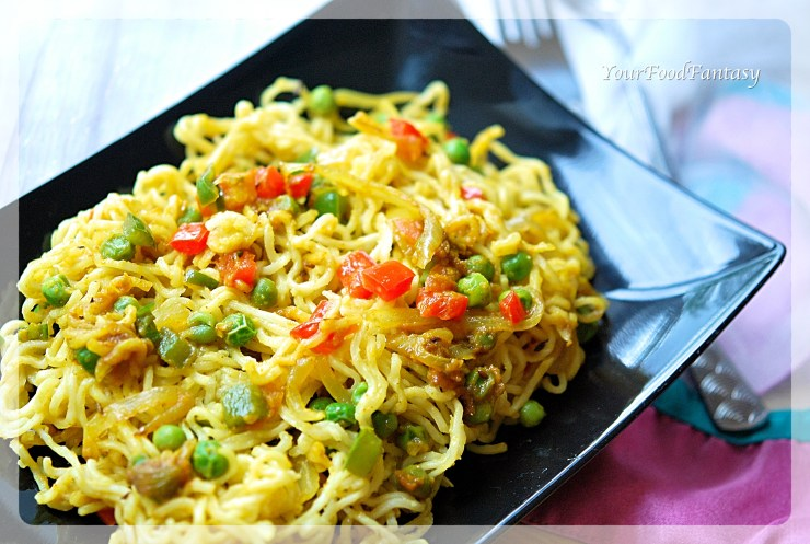Maggi Noodles Recipe Indian Style - Your Food Fantasy by Meenu Gupta