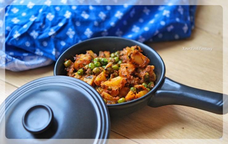 Aalo Matar Ke Sookhi Sabji | Your Food Fantasy by Meenu Gupta