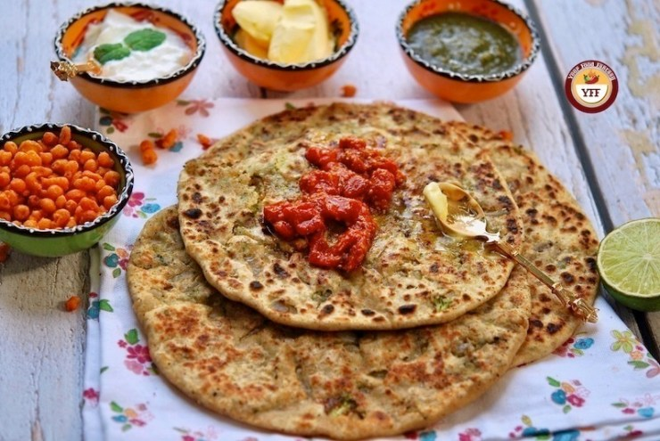 Indian Broccoli Paratha Recipe | Your Food Fantasy