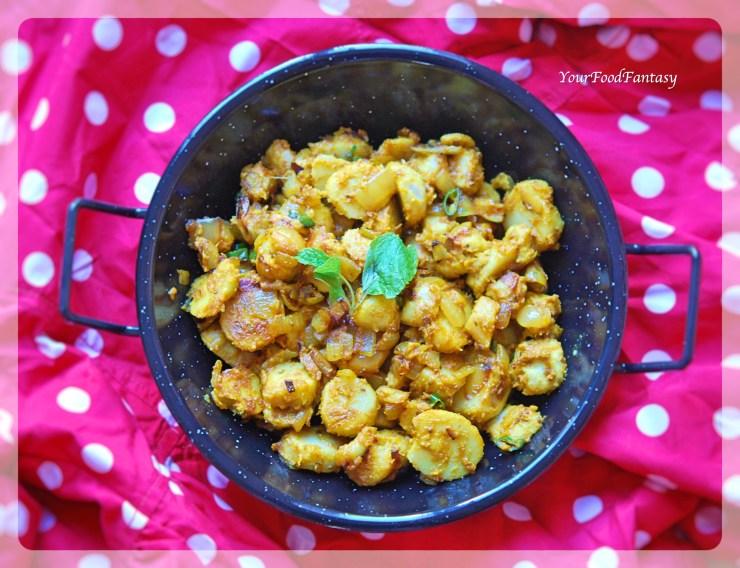 Masala Arbi Recipe | Your Food Fantasy by Meenu Gupta
