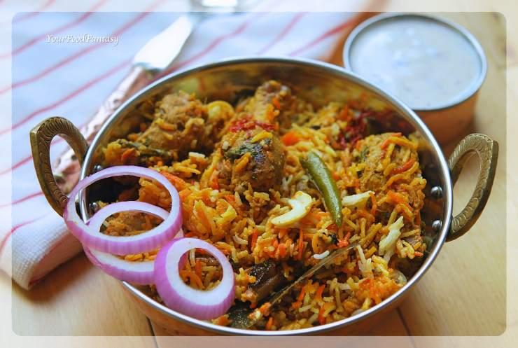 Authentic Chicken Dum Biryani Recipe   Your Food Fantasy