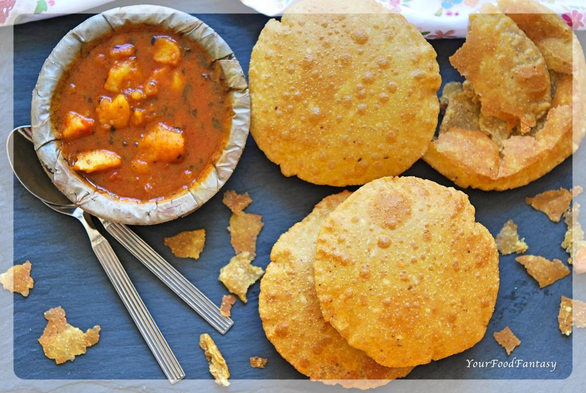 Bedmi Puri Recipe - बेड़मी पूरी