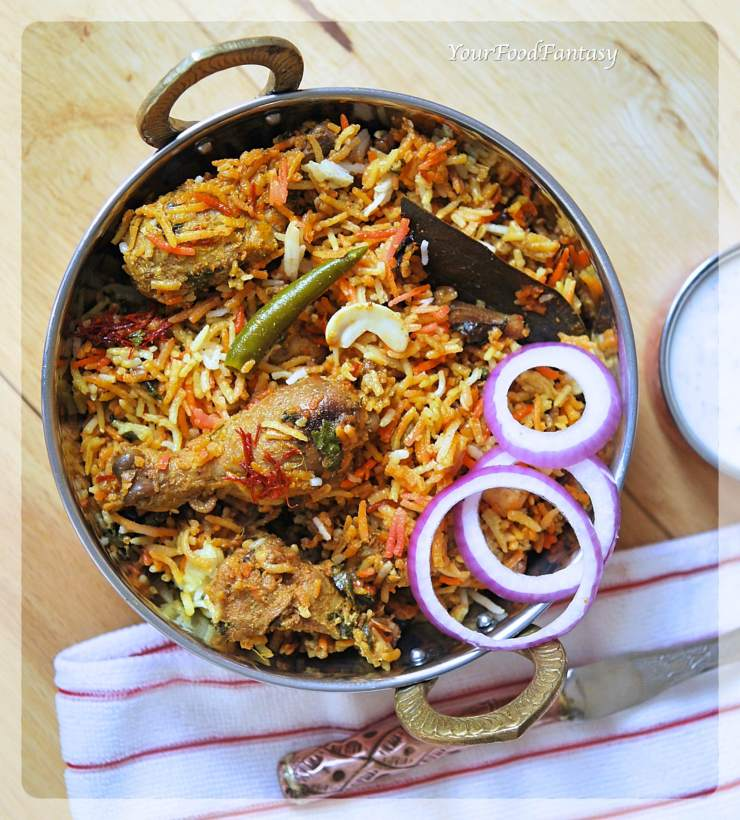 Chicken Dum Biryani Recipe | Your Food Fantasy by Meenu Gupta