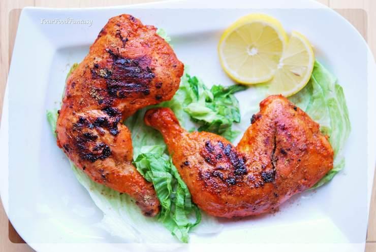 Angara Chicken Tangdi or Fiery Chicken Leg Recipe | Your Food Fantasy
