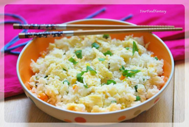 Egg Fried Rice | Your Food Fantasy