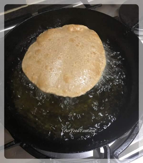Kuttu Puffed Puri Recipe   Your Food Fantasy