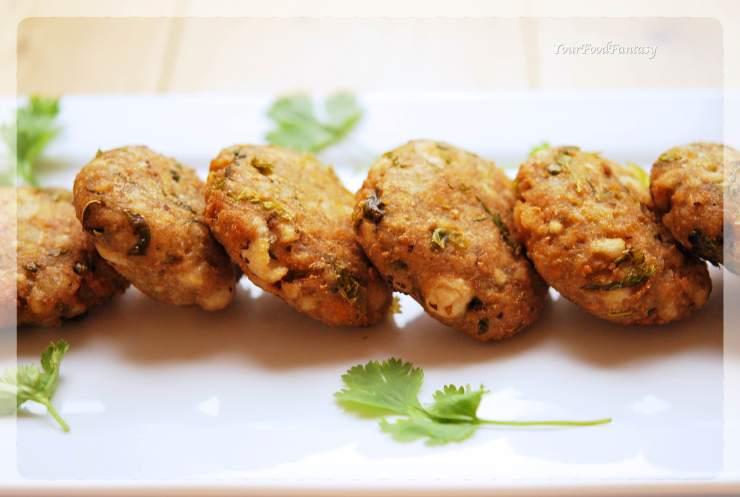 Makhane Ke Cutlet - Foxnut Seeds Cutlet Recipe | YourFoodFantasy.com
