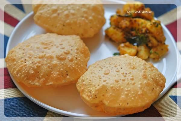 Ajwain Ke Poori Recipe   Your Food Fantasy