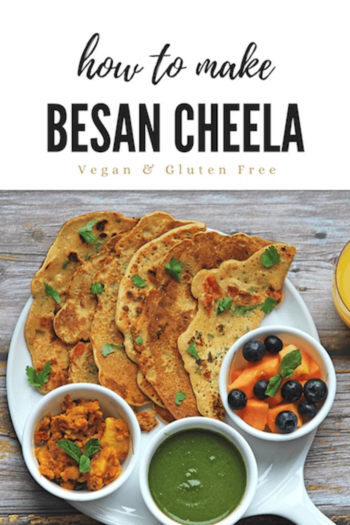 Besan Cheela Recipe | Your Food Fantasy