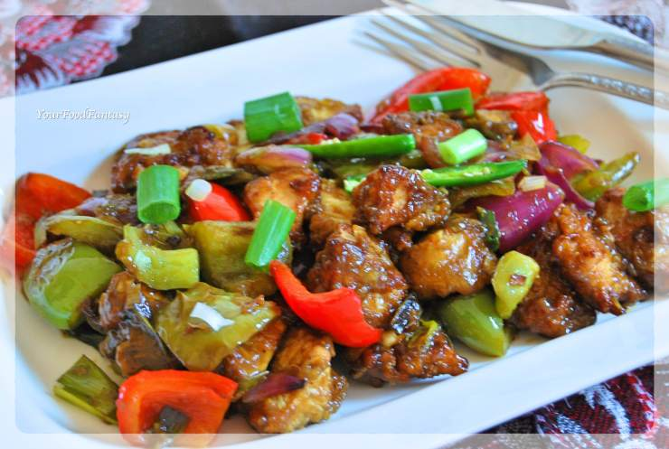 Chilli Chicken Recipe | YourFoodFantasy.com by Meenu Gupta
