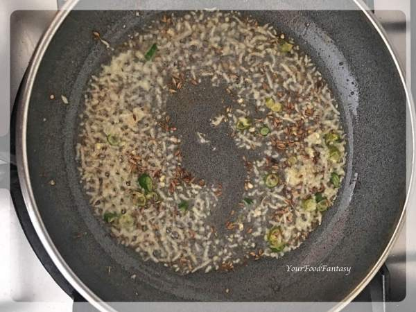 How to prepare filling for Matar Kachori   Your Food Fantasy