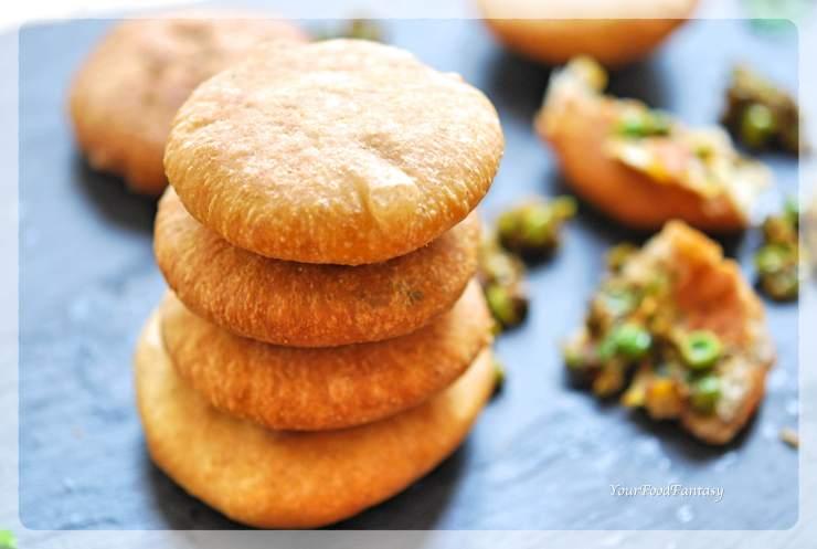 Matar Ke Kachori | Green Pea Stuffed Pastry | YourFoodFantasy.com