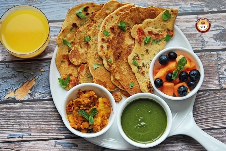 Vegan Gluten Free Besan Chilla | Your Food Fantasy