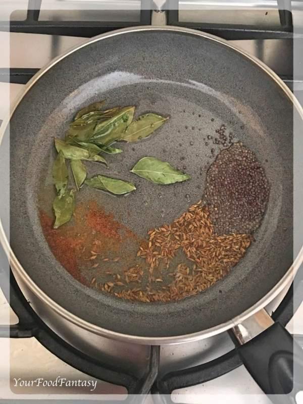 Bombay Aloo | Bombay Potatoes | Sooki Aloo Sabzi | Your Food Fantasy