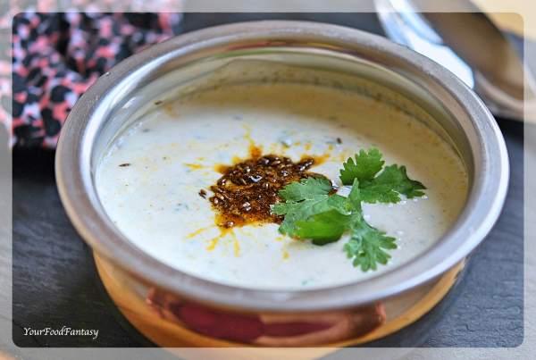 Cucumber Raita Recipe | YourFoodFantasy.com