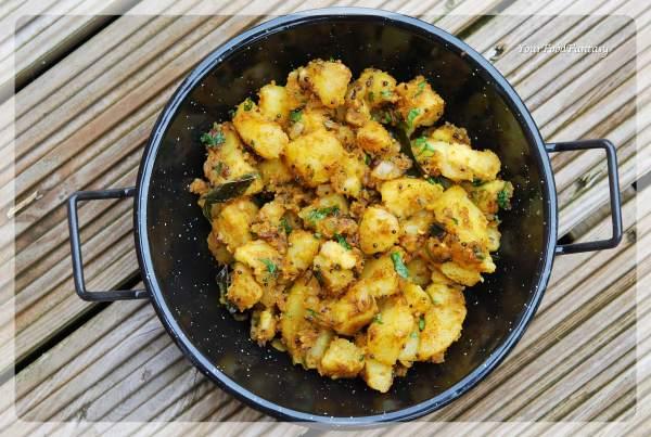 Dry Potato Curry | Bombay Aalo | Bombay Potatoes | Sooki Aalo Sabzi | Your Food Fantasy