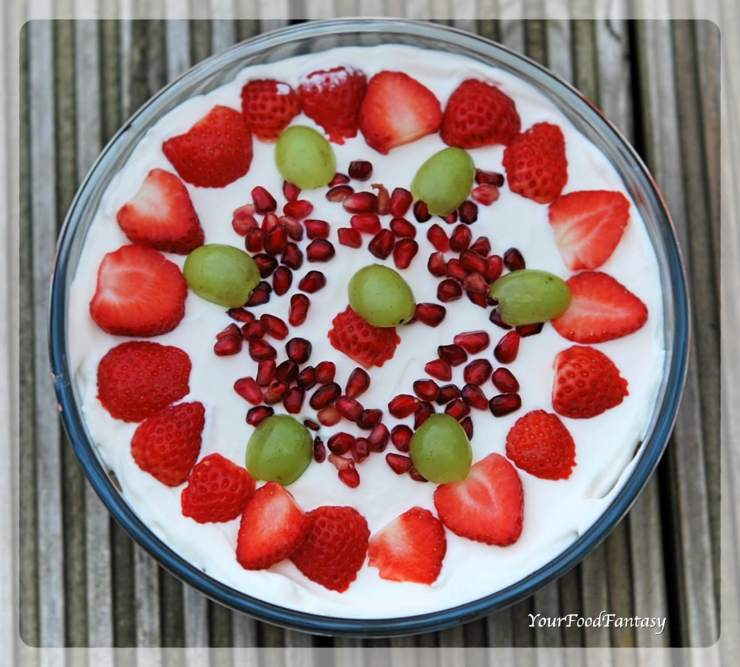 English Dessert Trifle Recipe | YourFoodFantasy.com