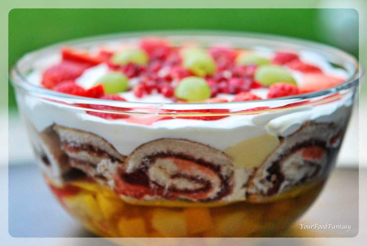 How to make Trifle Recipe | Your Food Fantasy
