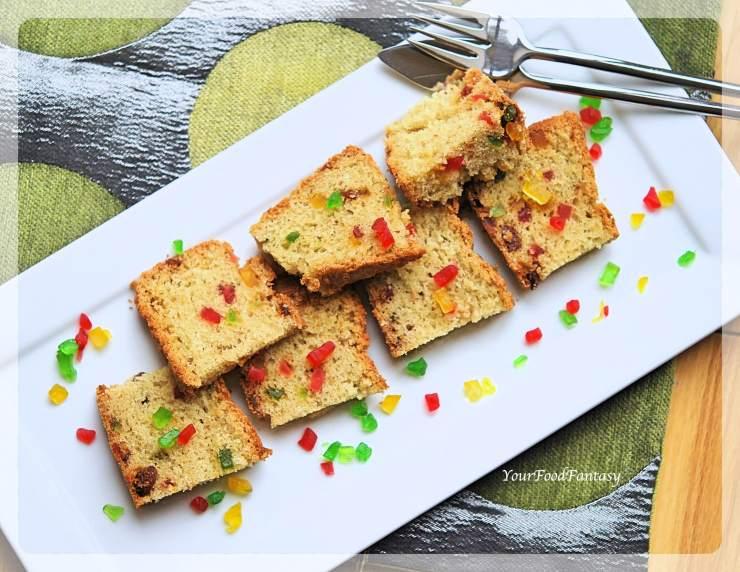 Tutti Frutti Cake | Cake Recipe | Your Food Fantasy