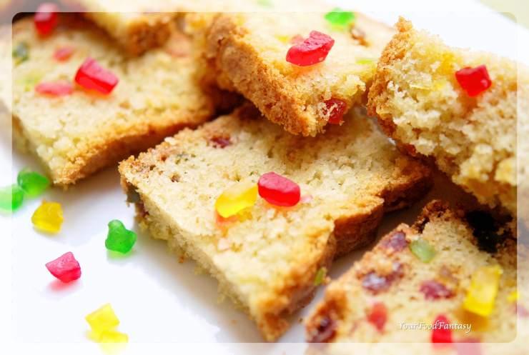 Tutti Frutti Cake Recipe | Cake Recipes | Your Food Fantasy