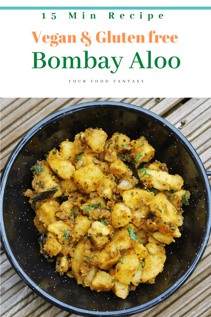 Vegan & Gluten free Bombay Aloo | Your Food Fantasy
