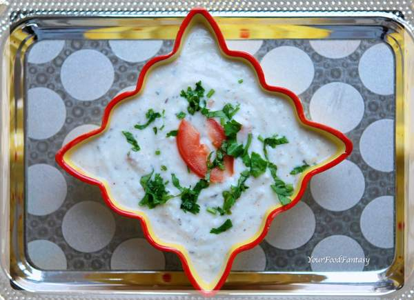 Vegetable Raita Recipe | Your Food Fantasy