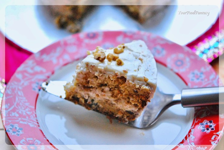 Carrot Cake Recipe | YourFoodFantasy.com
