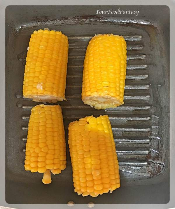 Grilling Corns | Corn On the Cob Recipe | Your Food Fantasy