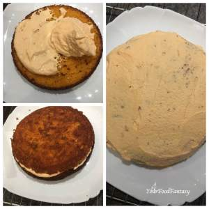 Layering Orange Cake | Orange Cake Recipe