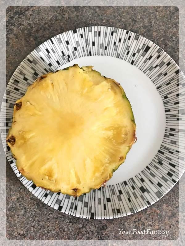 Pineapple for Pineapple Raita | Raita Recipes | Your Food Fantasy
