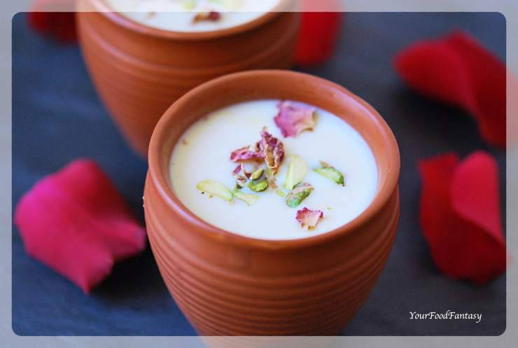 Rabri Recipe | Rabdi An Indian Dessert | YourFoodFantasy.com