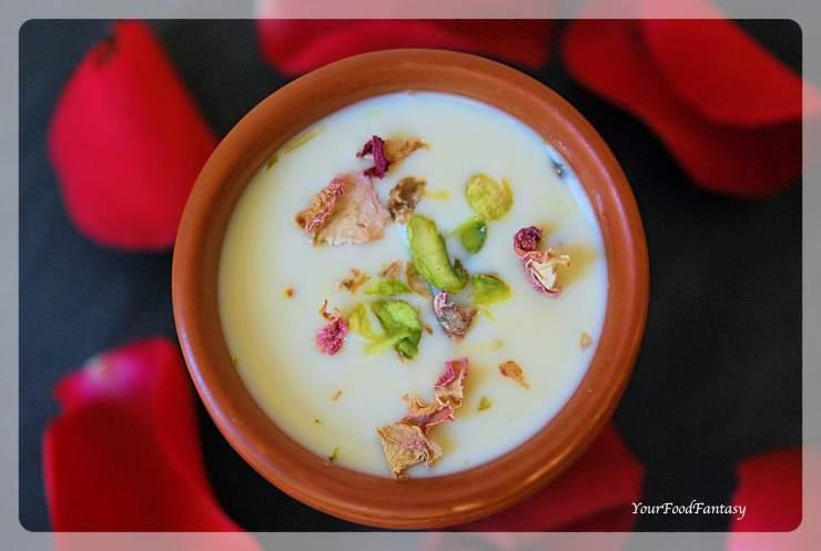 Rabri or Rabdi Recipe   An Indian Dessert   YourFoodFantasy.com