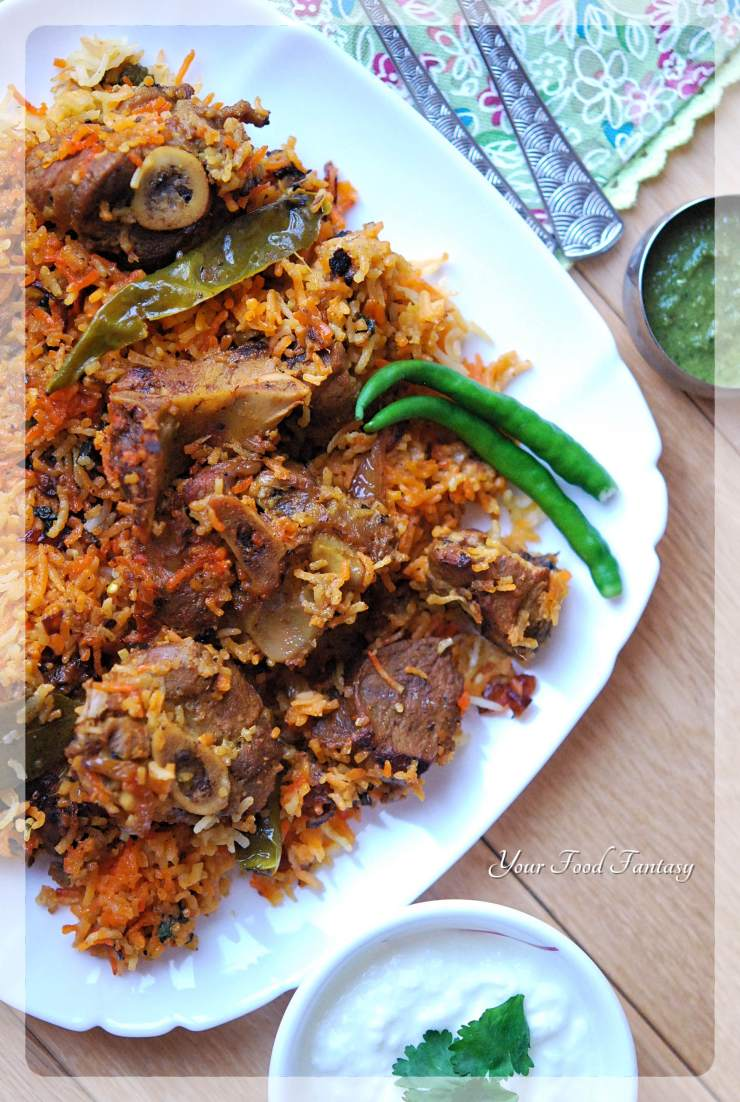 Mutton - Lamb Biryani Recipe