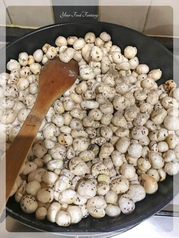 How to make roasted makhana