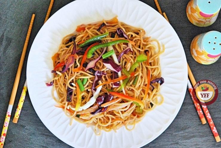 Hakka Noodles Recipe | Indo Chinese Cuisine