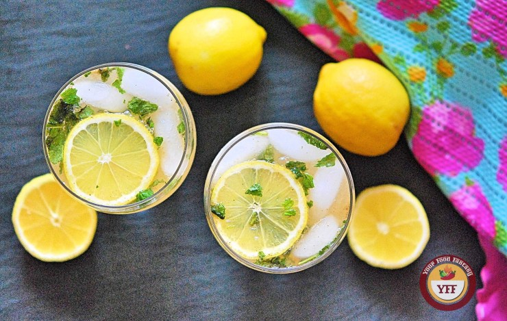 Nimbu Masala Shikanji Recipe - Summer Drinks | Your Food Fantasy