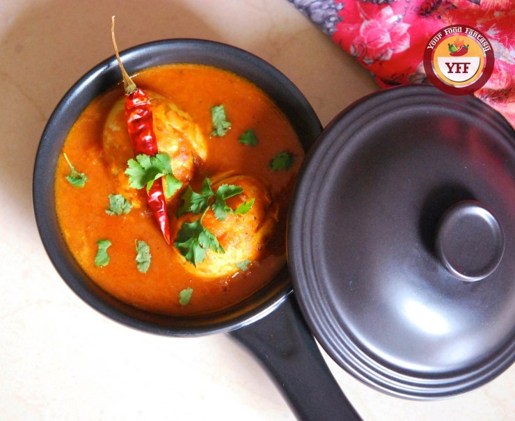 South Indian - Chettinad Egg Curry Recipe | Your Food Fantasy