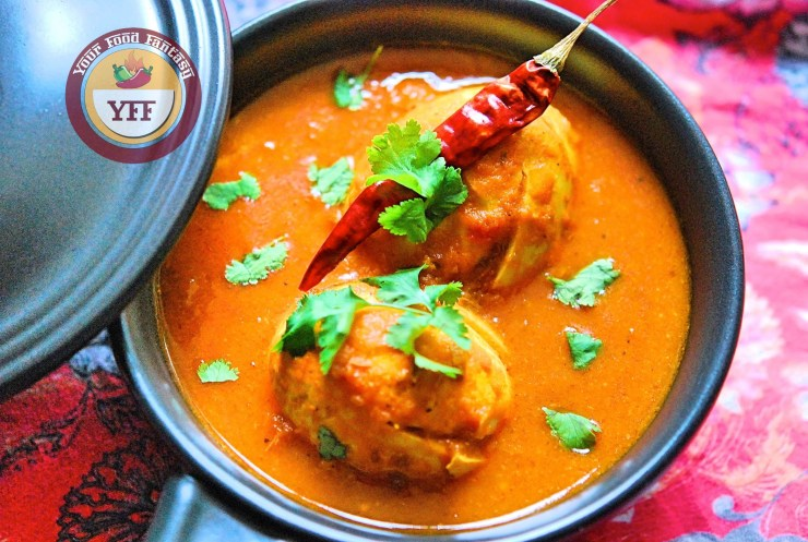 South Indian Egg Curry Recipe | Your Food Fantasy by Meenu Gupta